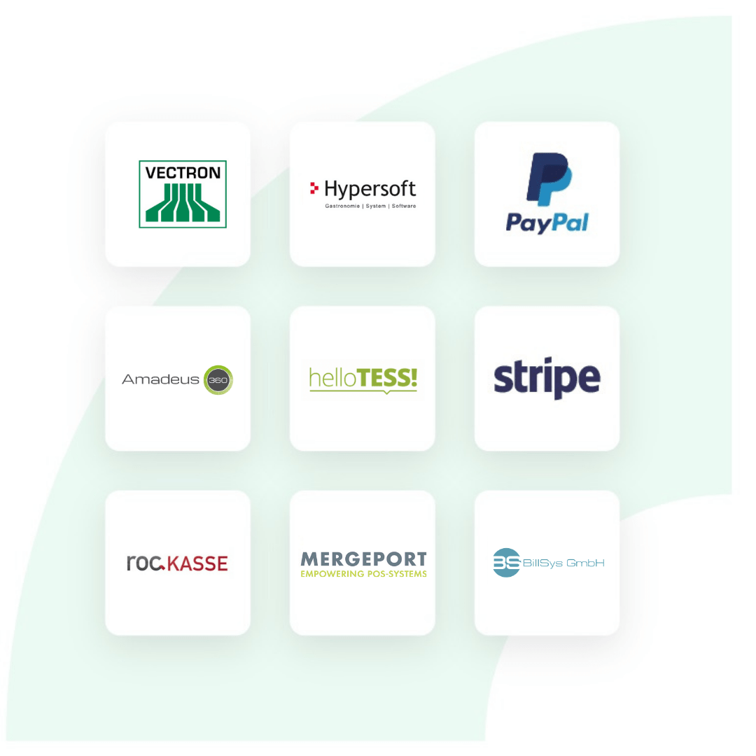 Kassensystem-Logos